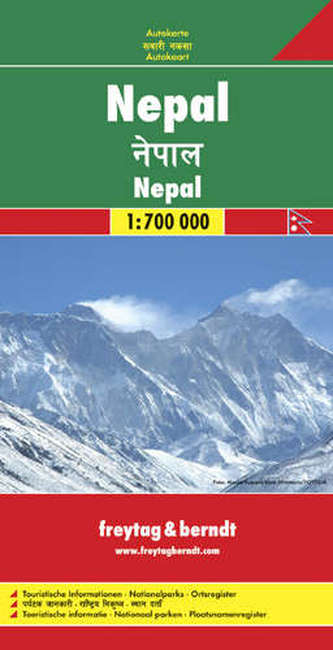 Nepál 1 : 700 000