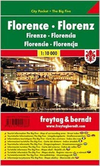 Florence / city pocket 1:10 000