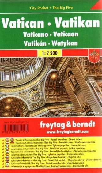 Vatikan / centrum lamino 1:2 500
