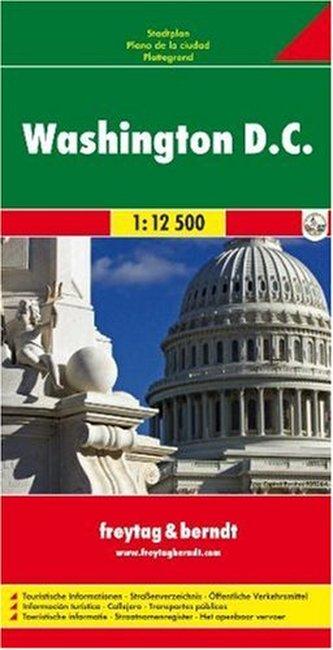 Plán města Washington D.C. 1:12 500