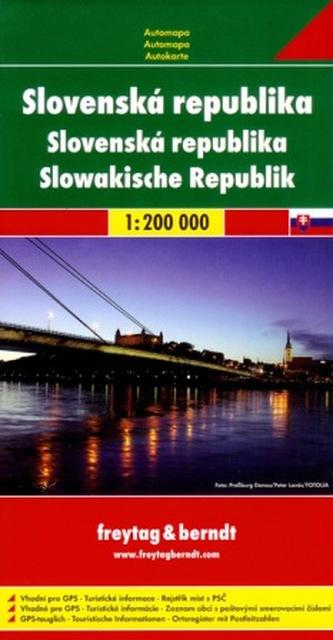 Slovenská republika 1:200 000