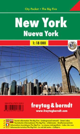 Freytag & Berndt Stadtplan New York. Nueva York
