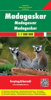 Freytag & Berndt Autokarte Madagaskar. Madagascar