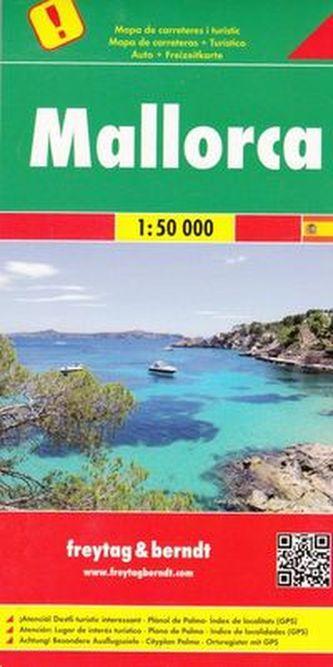 Majorka mapa turystyczna 1:50 000
