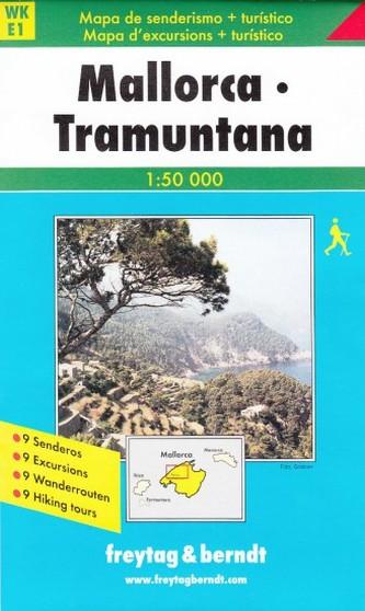 Mallorca Tramontana 1:50 000 WKE 1