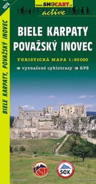 Biele Karpaty, Pov.Inovec 1:50 000