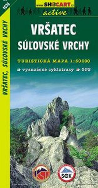 Vršatec, Súlovské vrchy 1:50 000