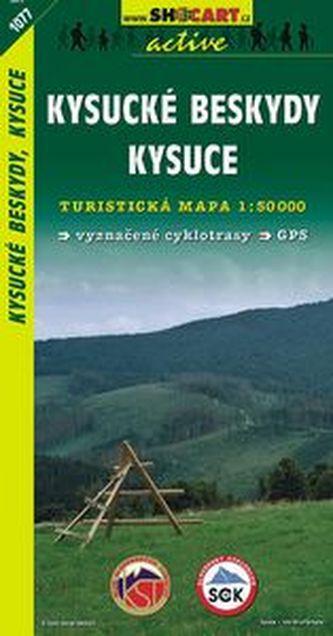 Kysucké Beskydy, Kysuce 1:50 000