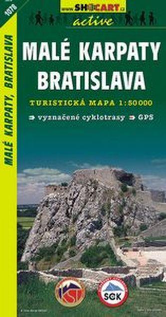 Malé Karpaty, Bratislava 1:50 000