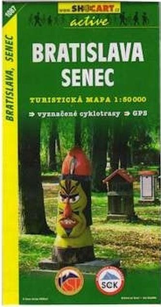 Bratislava, Senec 1:50 000