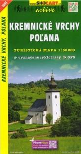 Kremnické vrchy, Poľana 1:50 000