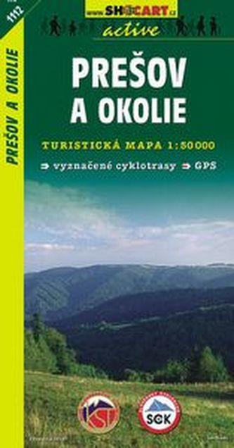 Prešov a okolie 1:50 000