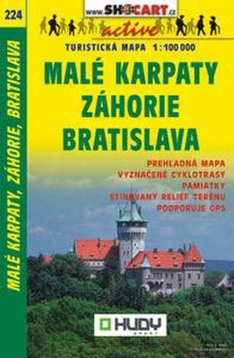 Malé Karpaty, Záhorie, Bratislava 1:100 000