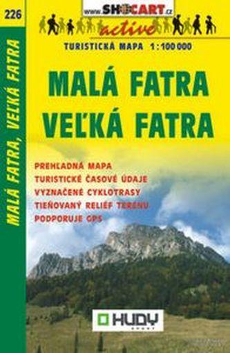 Malá Fatra, Velká Fatra 1:100 000