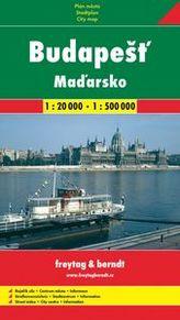 Automapa Budapešť + Maďarsko 1:20 000/1:500 000