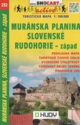 Muránska planina, Sl. Rudohorie-záp. 1:100 000