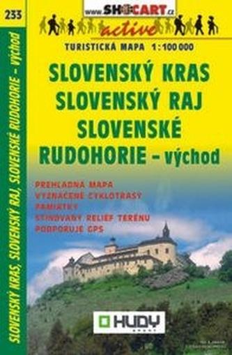 Slovenský kras, raj, rudohorie-východ 1:100