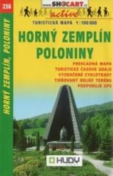 Horný Zemplín, Poloniny 1:100 000