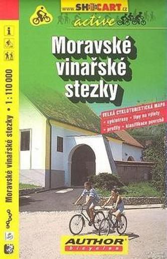 Cyklomapa Moravské vinařské stezky 1:110 000