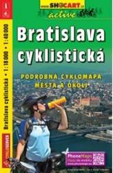 Bratislava cyklistická 1 : 18 000 / 1 : 40 000