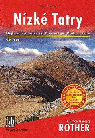Turistický průvodce Rother Nízké Tatry - Rother