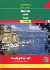 Autoatlas Itálie 1:200 000