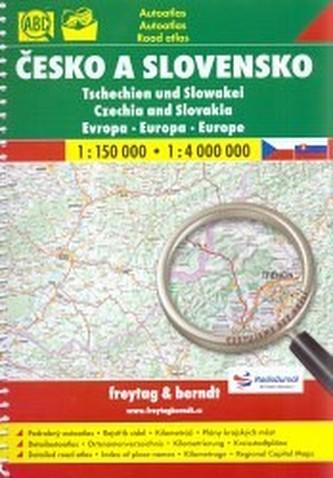 Autoatlas Česko a Slovensko 1:150 000 (cestujeme bez brýlí)