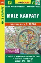 Malé Karpaty 1:40 000