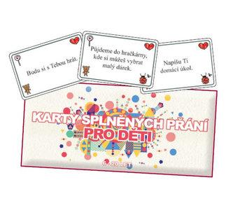 Karty splněných přání pro děti