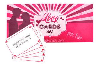LOVE CARDS - Karty splněných přání PRO NI