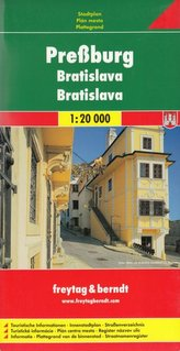 Bratislava / automapa 1:20 000
