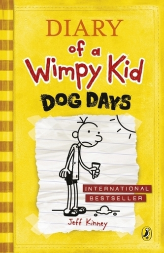 Diary of a Wimpy Kid 4 - Dog Days - Kinney Jeff