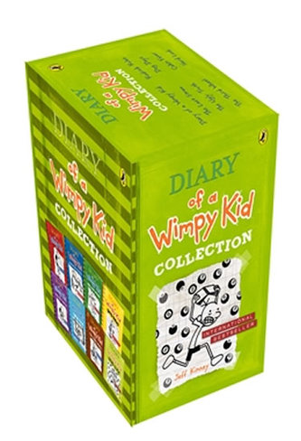 Diary of a Wimpy Kid Collection (8 Copy Slipcase)