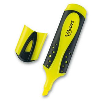 Zvýrazňovač Fluo Peps Soft žlutá