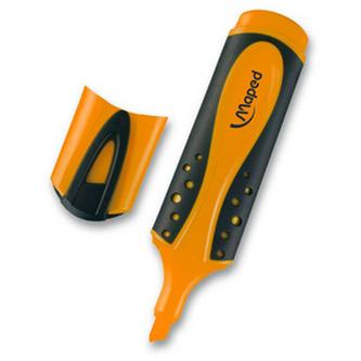 Zvýrazňovač Fluo Peps Soft oranžová