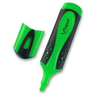 Zvýrazňovač Fluo Peps Soft zelená