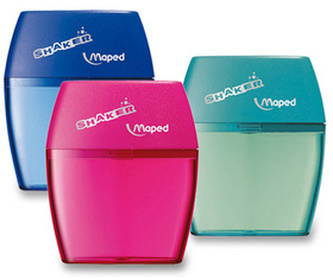 Strouhátko Shaker 2 otvory, mix barev