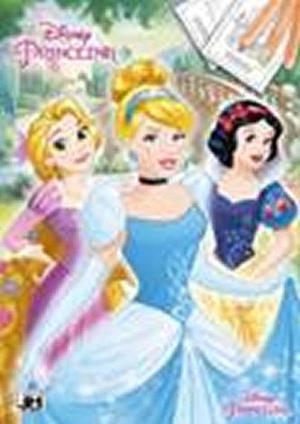 Princezny - Omalovánky A4