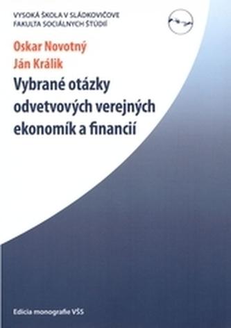 Vybrané otázky odvetvových verejných ekonomík a financií