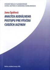 Analýza audiálneho postupu pre výučbu cudzích jazykov