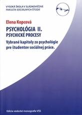 Psychológia II.