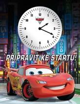 Auta - Připravit, pozor…START (kniha s hodinami)