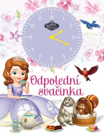 Sofie První - Odpolední svačinka (kniha s hodinami)