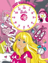 Barbie - Celý den s Barbie (kniha s hodinami)