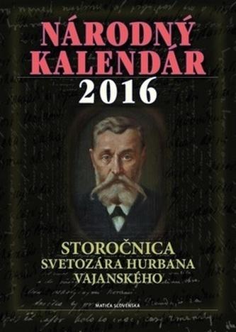 Národný kalendár 2016 - Štefan Haviar
