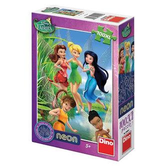 Víly - Neon puzzle 100 XL dílků