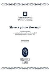 Slovo a písmo Slovanov