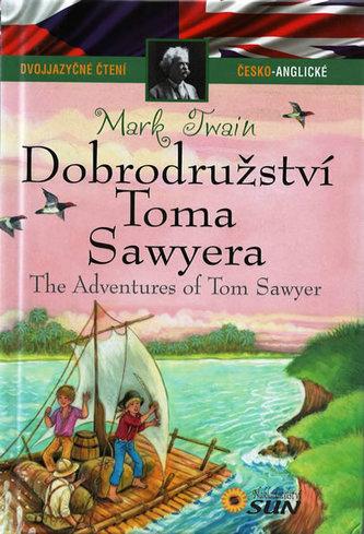 Dvojjazyčné čtení Č-A - Dobrodružství Toma Sawyera