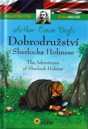 Dvojjazyčné čtení Č-A - Dobrodružství Sherlocka Holmese