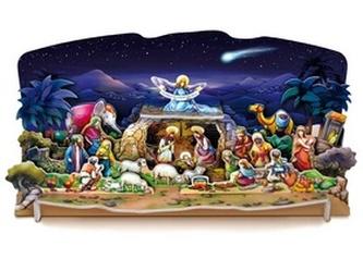 Vánoční betlém LUX